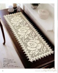 Search engine optimization For Interior Design Websites - Crochet Filet Filet Crochet, Crochet Diagram, Thread Crochet, Crochet Stitches, Knit Crochet, Crochet Table Runner Pattern, Crochet Tablecloth, Crochet Doilies, Lace Patterns