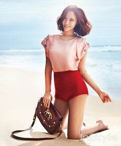Hwang Jung Eum - InStyle Magazine January Issue '14