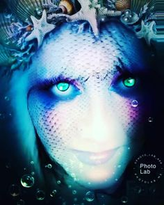 True blue one... #waterNymphs #mermaids #mermaid #merihirviöitä #merihirviö #seamonsters #merenneito #merenneidot #merenneitoja #mermaiden… Water Nymphs, Sea Monsters, Disney Characters, Fictional Characters, Halloween Face Makeup, My Arts, Satu, Canvas, Artwork