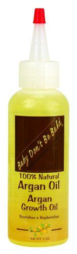 Baby Don't Be Bald Argan Growth Oil 4 oz. ** For more information, visit image link. #hairnourishing