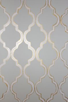 Stencil- powder room first floor with glossy eggshell over matte eggshell for subtle effect