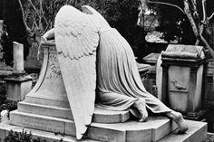 #grave #tombstone #angel