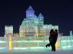 Snow Sculpture Festival, Harbin, China