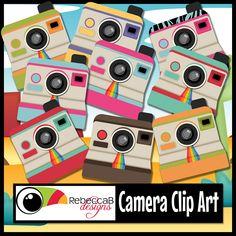 RebeccaB+Designs+Camera+Clip+Art+1.jpg 1,200×1,200 pixeles