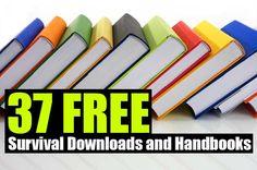 37 FREE Survival Downloads and Handbooks - SHTF Preparedness