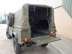 Land Rover 110 Defender Wolf Soft Top (Remus) - Search_By_Manufacturer - L.Jackson and Co » For Ex Army Trucks Specialist Military vehicles, Ex. Mod Sales and Nato plant and equipment for sale and export