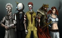 ronalds gonna make you into a happy meal