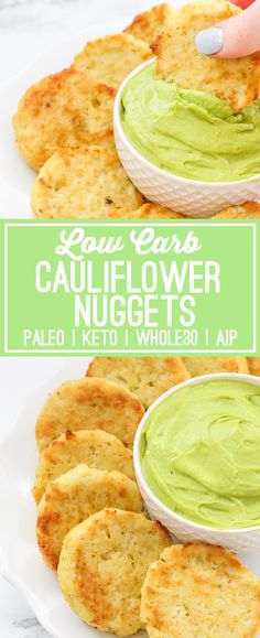 I believe in the healing power of vegetables! But, I also believe in fun, unique recipes to keep things interesting. As much as I love big plates of vegetables, stir fries, and veggie dense soups, I also want something fun every once and while. Like these delicious Low Carb Cauliflower Nuggets! My baked veggie nuggets …
