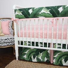 Tropical Nursery // Island Inspired // Banana Leaves