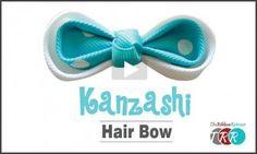 Kanzashi Hair Bow, YouTube Video