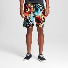 c6acf1fae7 Men's Rainbow Palm Ibiza Shorts - Mossimo Supply Co. ™ Ibiza, Rainbow, Swim