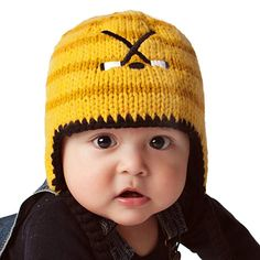 2fde0d62229 Huggalugs Baby and Toddler Boys Hockey Beanie Hat Review Earflap Beanie
