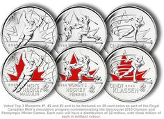 Image result for 2010 olympic collectible coins