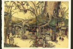 The Fairy Market - 1st Edition/1st Printing   Charles Van Sandwyk   Books Tell You Why, Inc.