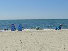 West Dennis Beach is a 2 mile long beach and there is plenty to do. In addition to walking the along the beach, one can find people swimming, kiteboarding Cape Cod Vacation, Ocean Sounds, Vacation Home Rentals, Beach Chairs, Renting A House, New England, Pond, Dennis Ma, Beautiful Places