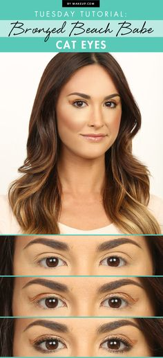 Get the cat eye look that makes everyone think you came straight from the beach!