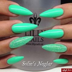 Gorgeous stiletto nails