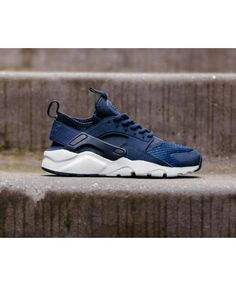 the best attitude 851e7 b8ac6 Chaussure Nike Huarache Run Ultra SE GS Obsidian Binary Blue Nike Huarache  Homme, Chaussure Nike
