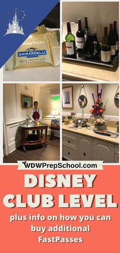 Disney Club Level can get you some awesome perks, like the opportunity to purchase additional FastPass+ reservations Disney Vacation Club, Walt Disney World Vacations, Disney Travel, Vacation Ideas, Disney Land, Family Vacations, Disney Cruise, Disney Magic, Disney Parks