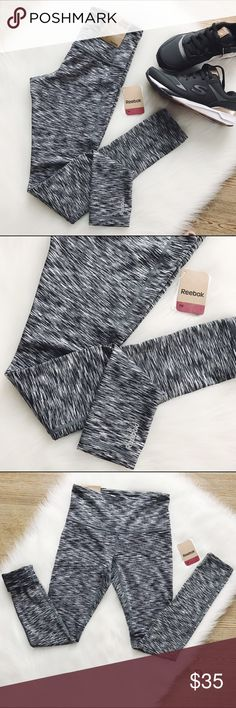 🖤 S A L E 🖤 Reebok Skinny High Rise Leggings Skinny High Rise leggings, size XS, black/white print, moisture management fabric specially developed to wick moisture away from the skin helping stay cool, dry & comfortable. They will also keep you warm for activities if it's cold outside. NWT                            💖FINAL PRICE💖                 🍭10% off 2 items or more!🍭                             •NO TRADING                             •smoke free Reebok Pants Leggings