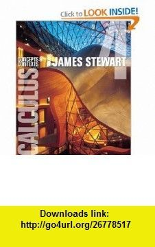 Single variable calculus concepts and contexts stewarts calculus calculus concepts and contexts stewarts calculus series 9780495557425 james stewart isbn fandeluxe Image collections