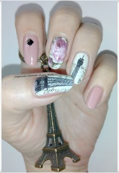 Unghiutze Colorate-Happy Nails: March's Nails Challenge - Vintage nails