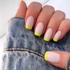51 Amazing Spring Nail Art Designs Ideas To Try In 2020 amazingspringnail sprignail nailart naildesign nailideas Neon Nails, Pastel Nails, Rock Nails, Lilac Nails, Burgundy Nails, Yellow Nails, Neon Yellow, Best Acrylic Nails, Acrylic Nail Designs