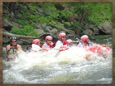 Upper Pigeon River Extreme Rafting! Take it to the EXTREME! Smaller boat = Bigger hits!