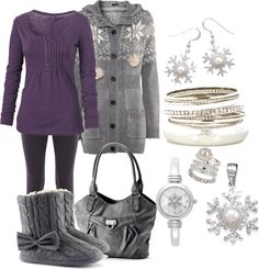 """Snow Day!"" by jamie-monster on Polyvore"