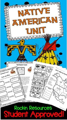 Native Americans is one of my favorite units!  It motivates students to want to learn about the Native Americans of North America (Eastern Woodlands, Great Plains, Southwest, Northwest Coast, Southeast). For each Native American region, there is a 2-page informational text and comprehension questions.  There are plenty of Native America activities, crafts, and maps.  I like that there are so many Native American lessons in the perfect order!  TPT Resource