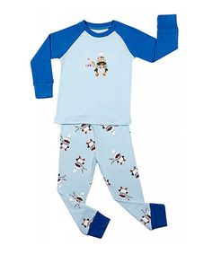 This Blue Penguin Pajama Set - Toddler & Boys is perfect! #zulilyfinds