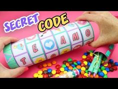 MAKE A GIFT WITH A SECRET CODE TO OPEN IT - CRIPTEX Mother´s Day | aPasos Crafts DIY - YouTube