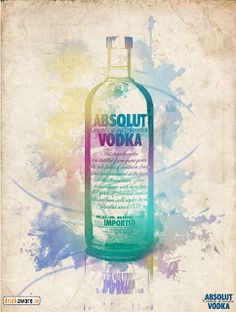 Graphic Design: Absolut vodka posters