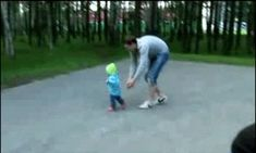 This Dad who saves face. | 11 GIFs That Prove Dads Are Superheroes