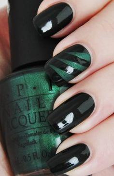 black n green!