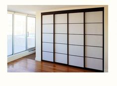 Modern, sliding, closet doors - I will be installing these in my future house