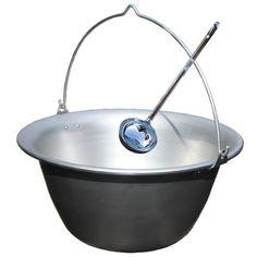 Nerezový kotlík 10 L + antikórová naberačka Camping cauldron Cauldron, Camping, Campsite, Campers, Tent Camping, Rv Camping