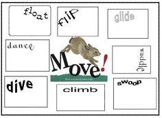 Animal Action~Verb lessons