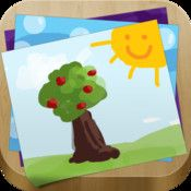 My Story - Book Maker for Kids. An iPad story book creating app with tools for drawing, photography, voice recording, writing and sharing.
