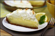 Healthy lemon meringue pie!