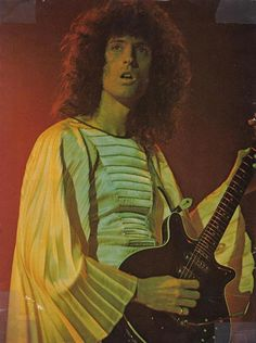 Brian May in Zandra Rhodes designed costume