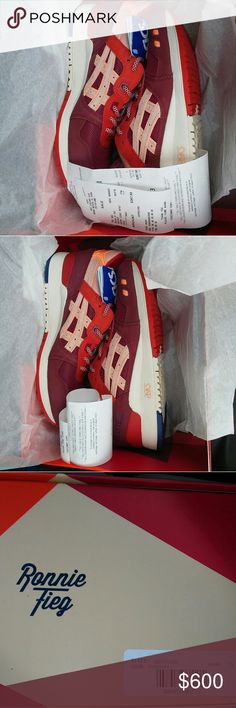 Asics Gel lyte 3 volcano 2.0  Size 7.5 m (9 women) Brand new in box, 100% authentic with receipt. Purchased from Miami Kith store.  Size 7.5. (Men's)  Size 9 (Women) Perfect for the spring and summer Very limited shoe. Asics Shoes Sneakers
