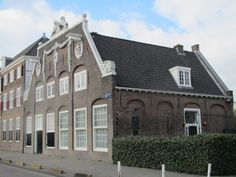 Old building of the VOC: Oost-Indisch Zeemagazijn built in 1721 (today museum Werkspoor), Oostenburgergracht 77, Amsterdam