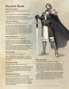 Dnd Dragons, Dungeons And Dragons 5e, Dungeons And Dragons Homebrew, Dnd Feats, Character Creation, Character Design, Dnd Paladin, Dnd Classes, Dungeon Master's Guide