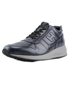 HOGAN Hogan Interactive N20 Sneaker H Rilievo Round Toe Leather Sneakers'. #hogan #shoes #sneakers