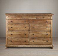 St. James 11-Drawer Dresser - antiqued coffee -->New House