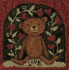 PN087-Teddy In Love finished