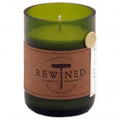 A pinot noir scented candle? Yes please!