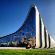 Heydar Aliyev center. Zaha Hadid architecture  #architecture ☮k☮
