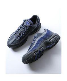 Nike Air Max 95 Ultra Triple Black Royal Blue Trainers